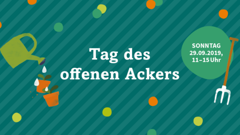 Tag des offenen Ackers